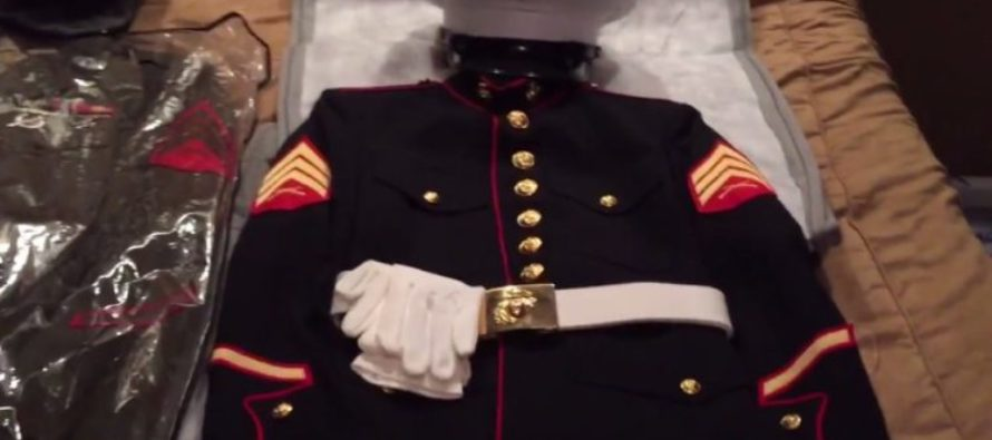 U.S Marine DENIED Access To His Own High School's Graduation Ceremony Because His Uniform