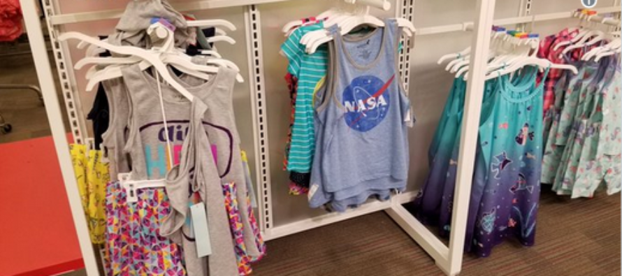 Target Publicly Humiliates Liberal Feminist Who Claims They Don't Make NASA Shirts For Girls