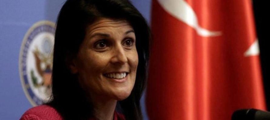 Nikki Haley Asked About Leaving Paris Deal – Shuts Liberals Up With THREE Brutal Words [VIDEO]