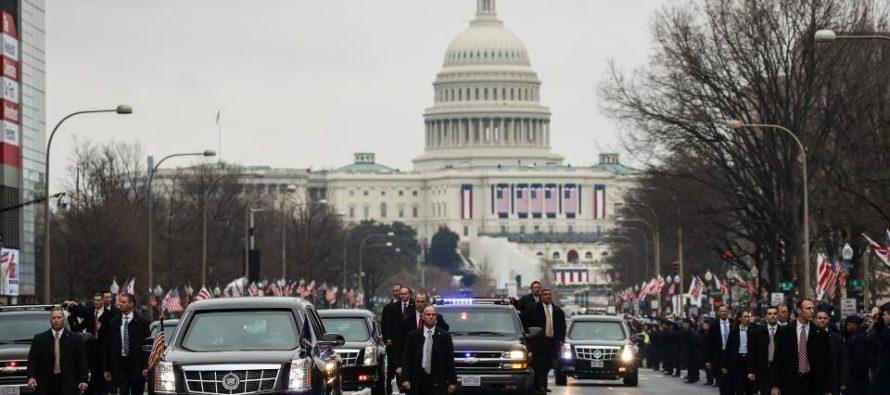 UBER Driver Runs Car Into Trump Motorcade STRIKING Secret Service Agent