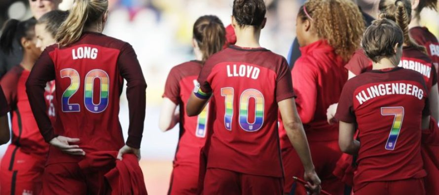 U.S. Soccer Team DEMANDS They Wear GAY PRIDE Jerseys & Christian Players Give EPIC Response