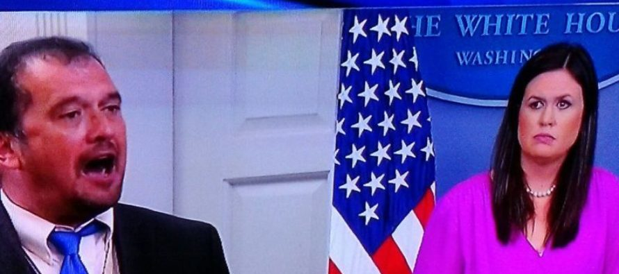 Liberal Reporter Becomes Unhinged During WH Briefing – Sarah Huckabee Sanders SHUTS HIM DOWN (VIDEO)
