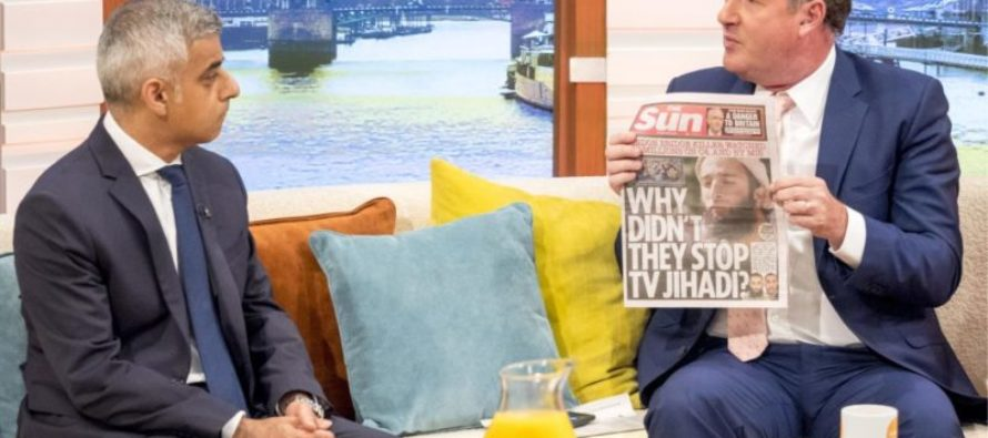 """London Mayor GRILLED On LIVE TV – """"Where Are The 400 Jihadis Let Back Into Country?"""" [VIDEO]"""
