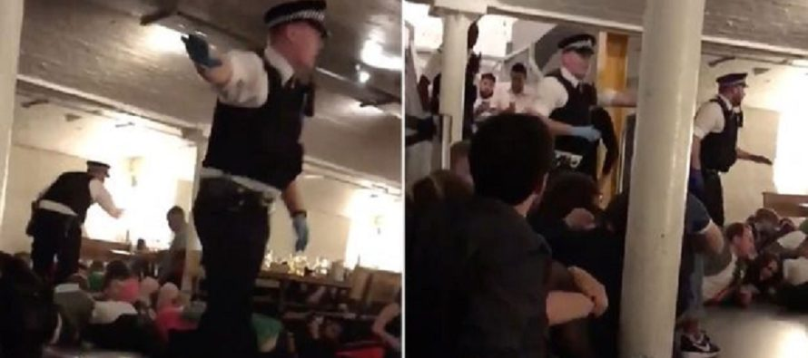 Frightening Video Shows Police Screaming For People To Get Down During London Bridge Terror Attack