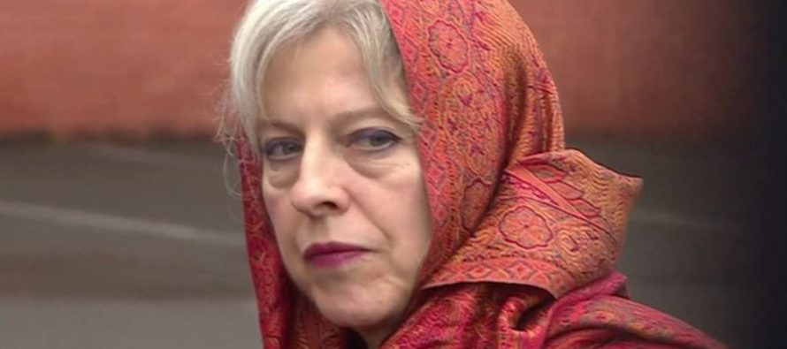 Theresa May Explains Why the Terrorists Are Winning