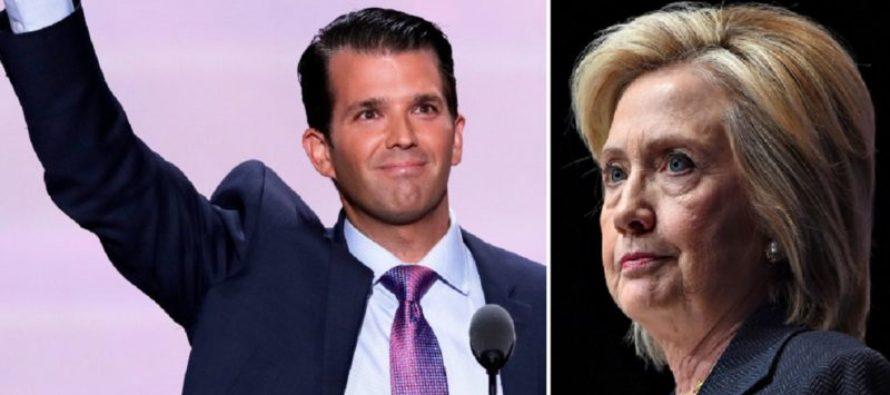 Slick Donald Trump Jr. BURNS Hillary After Supreme Court Ruling