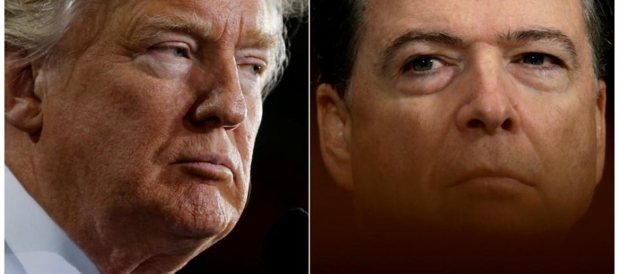 Trump slams VERY COWARDLY Comey on Twitter for leaking memo, suggests leaks are ILLEGAL