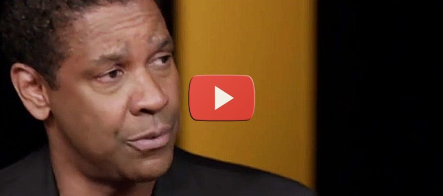 WATCH Reporter Get Put In His Place After FOOLISHLY Asking Denzel Washington About Obama