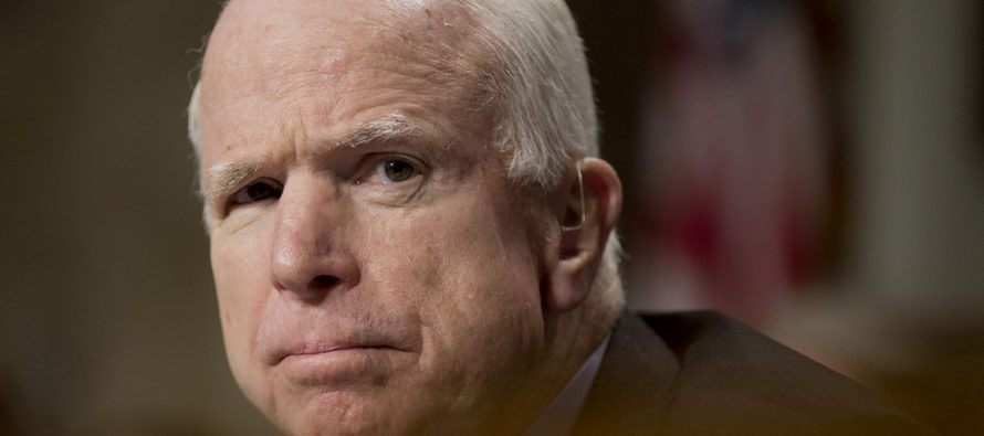 John McCain Said He Was Against Obama's #DACA Executive Order, But Attacks Trump For Ending It