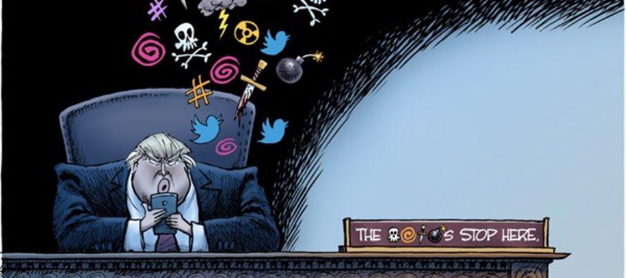 Presidential Motto (Cartoon)