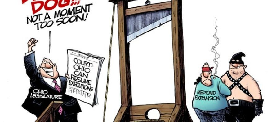 LOCAL OH Medicaid Execution (Cartoon)