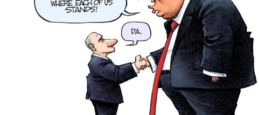 Trump and Putin (Cartoon)