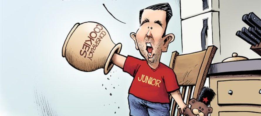 Trump Junior (Cartoon)