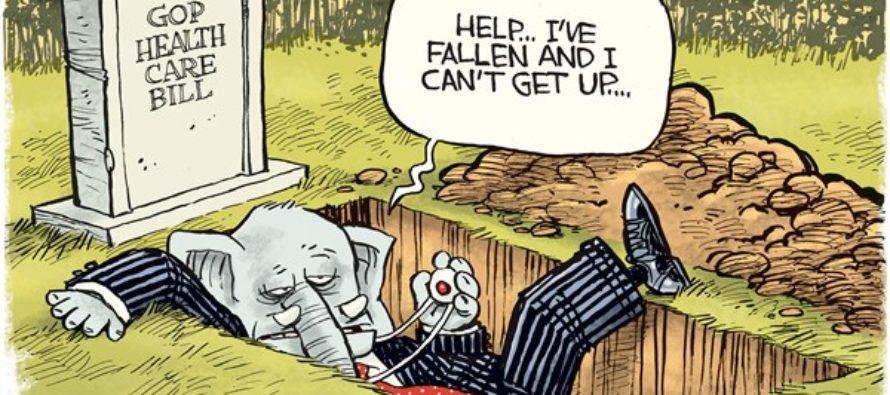 GOP Health Care Bill (Cartoon)