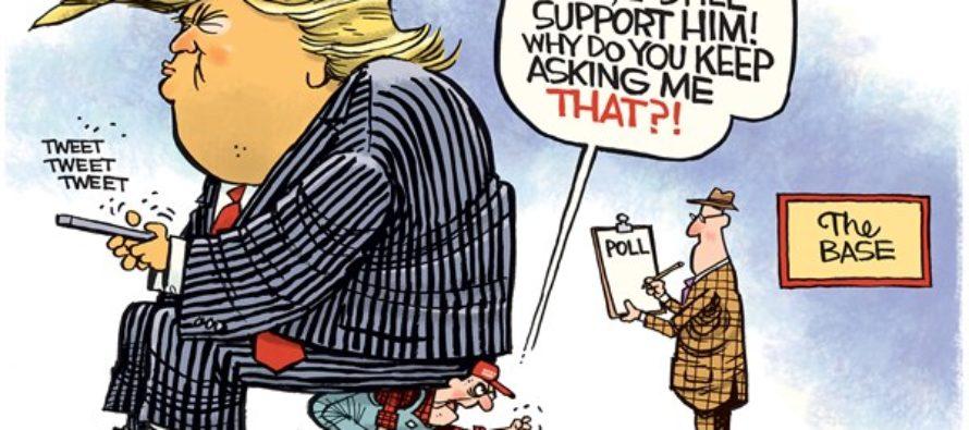 Trump Base (Cartoon)
