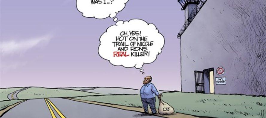 OJ Simpson Parole (Cartoon)