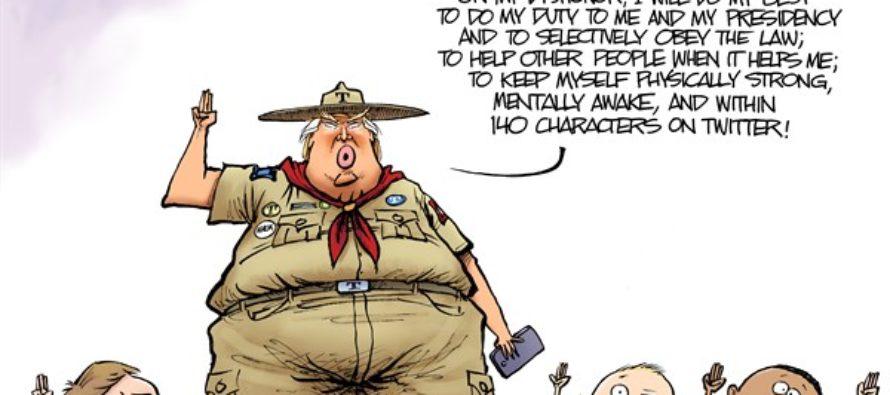 Boy Scout Oath (Cartoon)