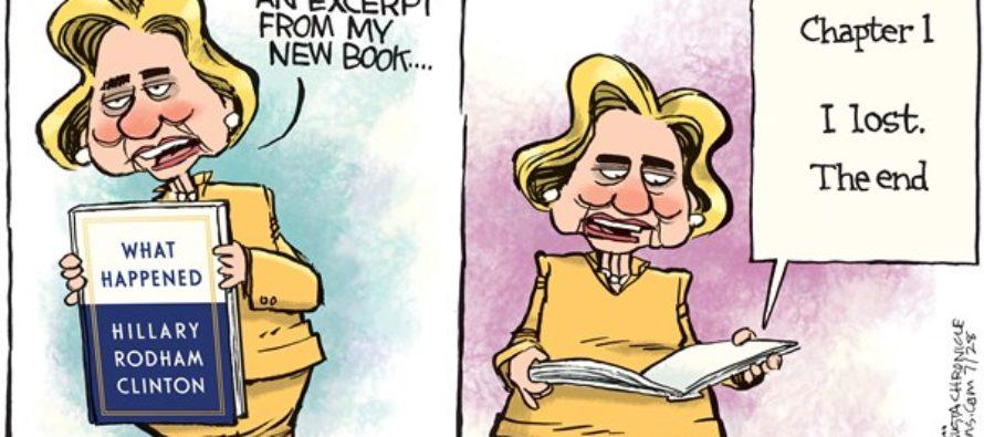 New Hillary Book (Cartoon)