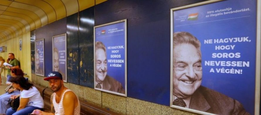 Hungarian Gov't Ramps Up Fight Against George Soros