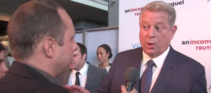 Al Gore Unable To Give Direct Answer When Asked About BOGUS 2006 Claims On 'Climate Change' [VIDEO]