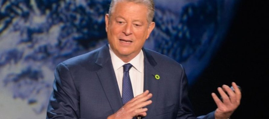 "Al Gore Declares A ""Climate Crisis"" Over Naturally Occurring Iceberg In Antarctica"