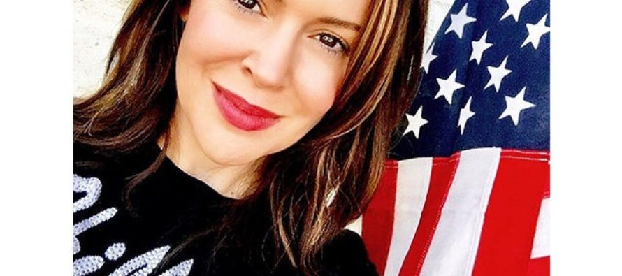 Alyssa Milano Unleashes 'Patriot Not Partisan' Project To Hold Trump 'Accountable' For Russian 'Collusion