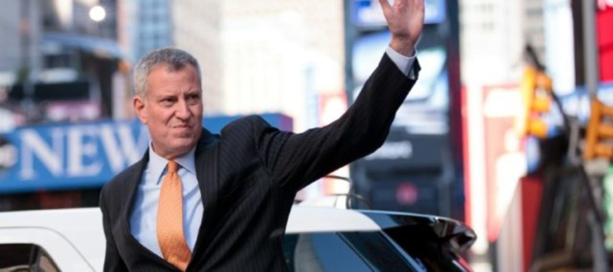New York Mayor Ditches Police Ceremony – Flies To Germany To Protest President Trump!
