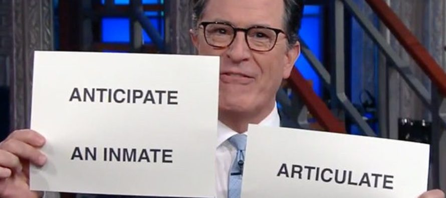 """Stephen Colbert Gives Kellyanne Conway New Title """"Satan's Trophy Wife"""" In Anti-Trump Monologue [VIDEO]"""