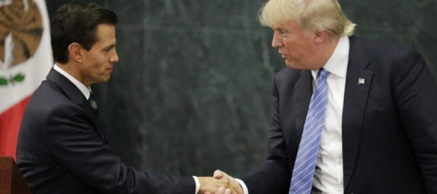 Trump After Meeting President Pena Nieto At G20 Summit: Mexico Will 'Absolutely' Pay For Wall