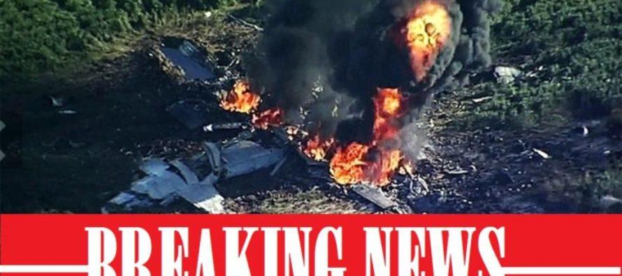 PLEASE PRAY! Hercules Plane Goes Down CONFIRMED 15 Marines Dead [VIDEO]