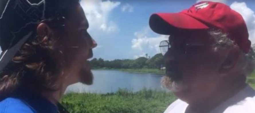 RUDE Vegan Activists Confront Florida Family Trying To Fish For Their Dinner [VIDEO]