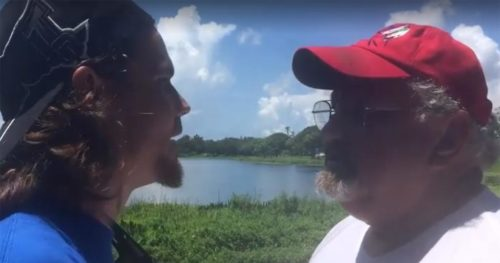 RUDE Vegan Activists Confront Florida Family Trying To Fish For Their Dinner