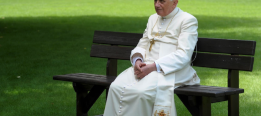 Pope Benedict XVI Says That The Church Is 'On The Verge Of Capsizing'