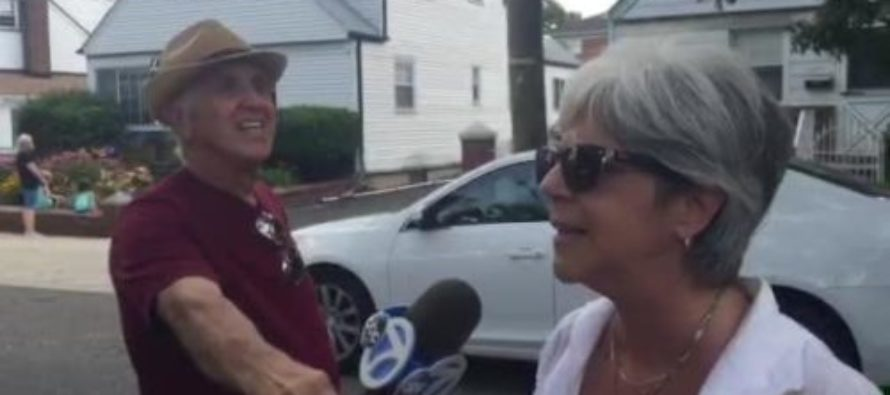 HA! Angry Elderly Woman Confronts Bill De Blasio Face To Face a – He Gives Cowardly Response [VIDEO]