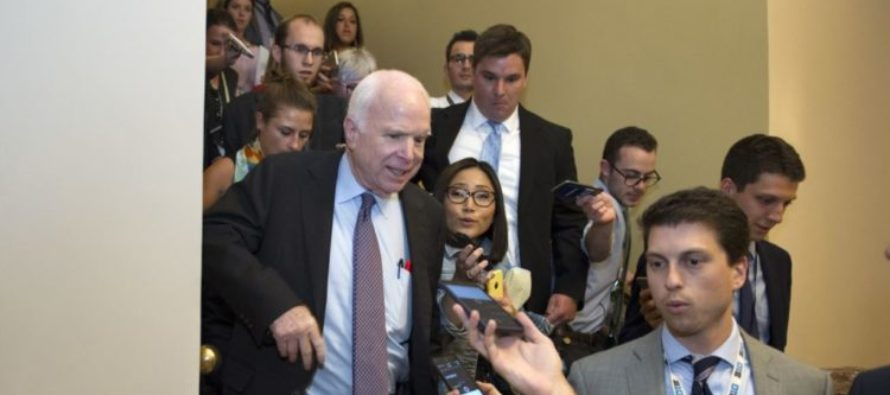 Damning Evidence Surfaces With McCain Repetitively Calling For Repeal…Before Stabbing America In The Back On Healthcare Vote [VIDEOS]