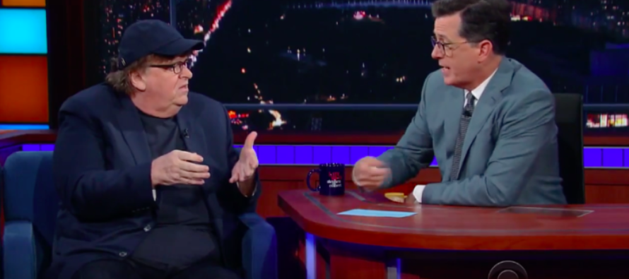 VIDEO: Michael Moore — 'I Refuse To Live In A Country Where' Trump Is President'