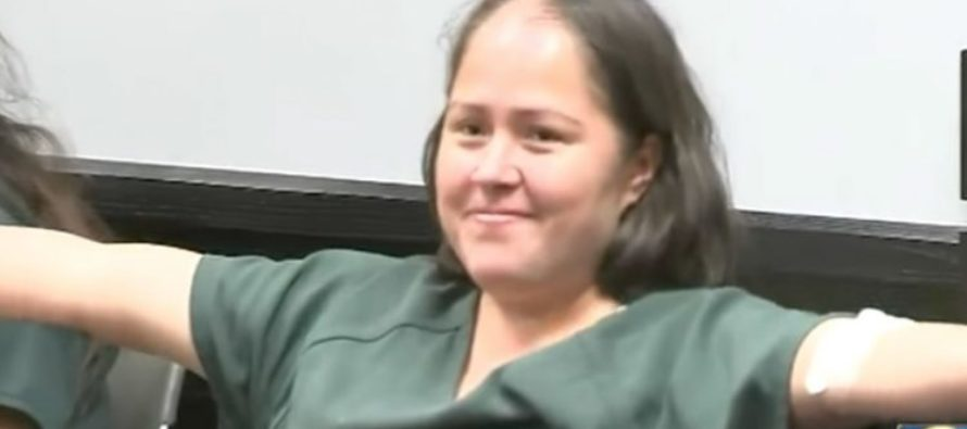 Illegal Immigrant Who Slaughtered Her Husband And 4 Children, Is ALL Smiles In Court [VIDEO]