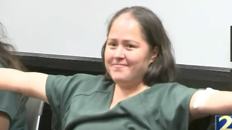 Illegal Who Slaughtered Her Husband And 4 Children, Is ALL Smiles In Court