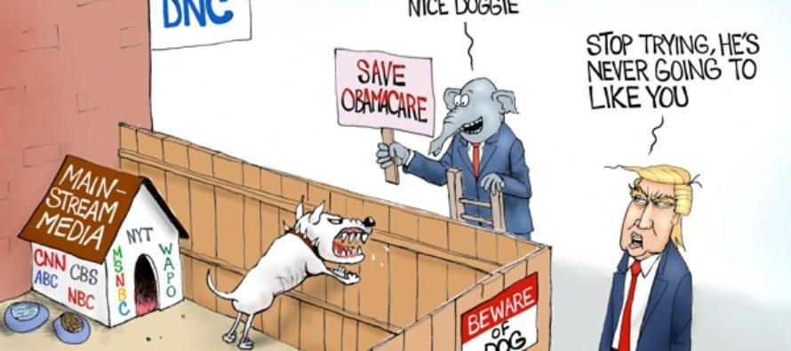 Democrat's Best Friend (Cartoon)