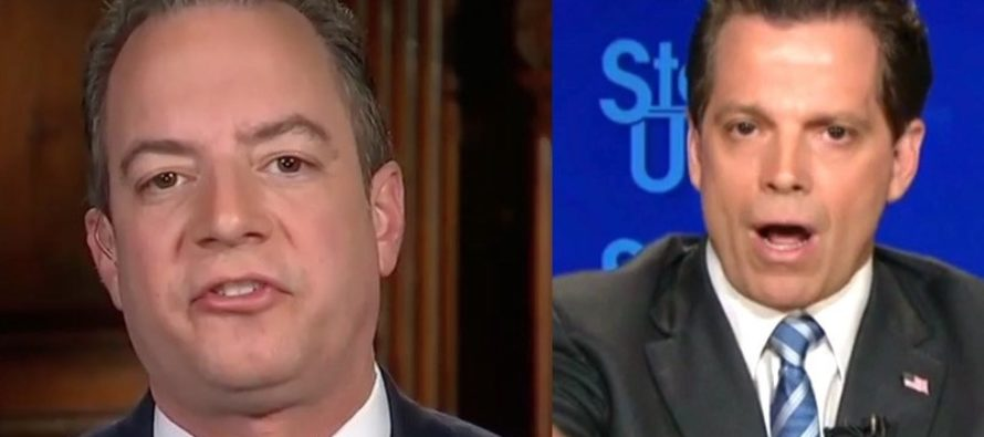 Scaramucci Tags Priebus In Tweet On Leaks Then Denies Threatening Him With FBI Investigation [VIDEO]