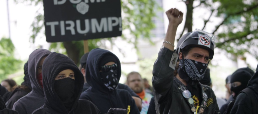FINALLY: Violent Liberal Antifa Group Has Been Declared a Terrorist Organization by New Jersey