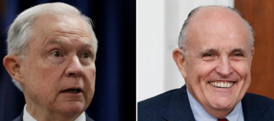 Not Giuliani: Trump Considering ANOTHER Replacement for Jeff Sessions