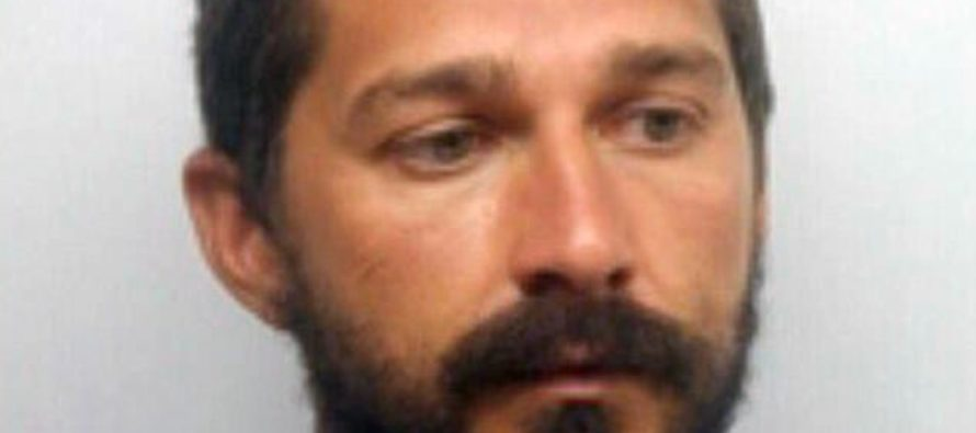 Disturbed Shia LaBeouf Arrested AGAIN, This Time For 'Drunkenness And Disorderly Conduct'