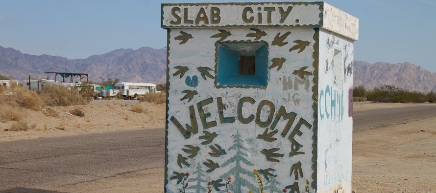 VIDEO: Slab City —  An Abandoned City In America With No Law