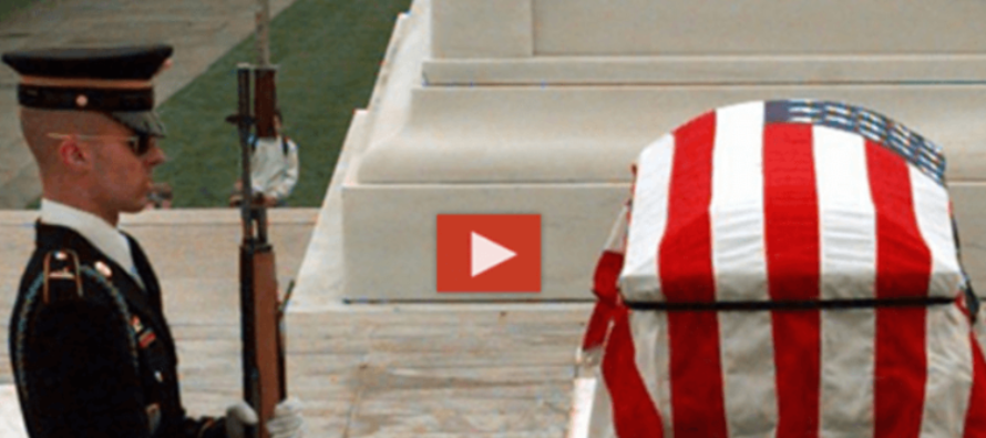 When THESE Men Laugh At Soldier Memorial, This Guard Set's Them Straight [VIDEO]