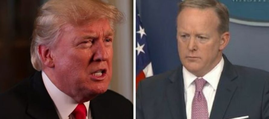 Spicer Tells Hannity His TRUE Feelings About Trump in Bombshell Interview