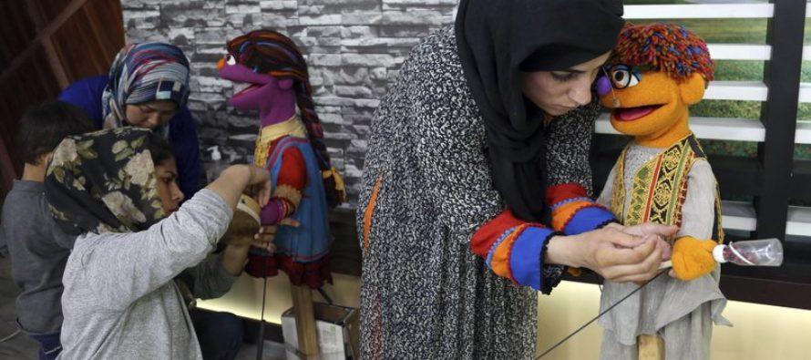 "Afghanistan's Version of ""Sesame Street"" Muppet Teaches Young Boys How To Respect Girls"