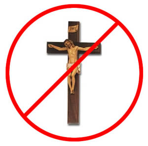 christianity banned