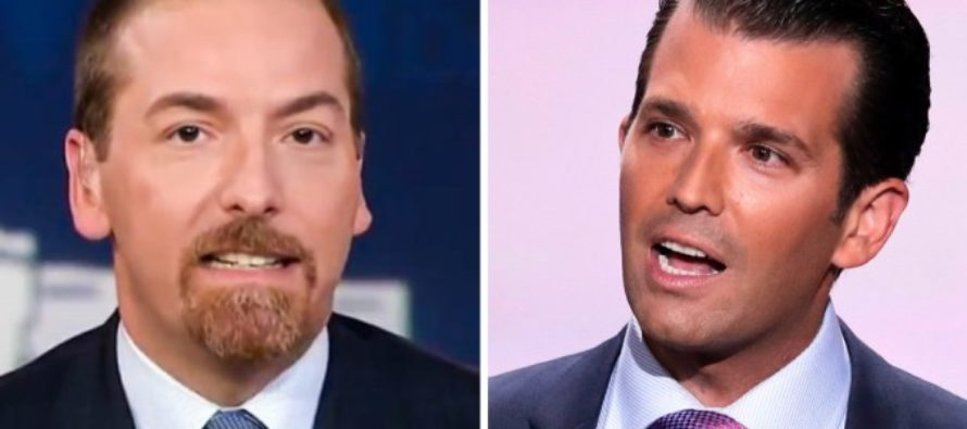 Trump Jr. Calls Out Chuck Todd for Failing to Ask Bernie Sanders About Fraud Investigation
