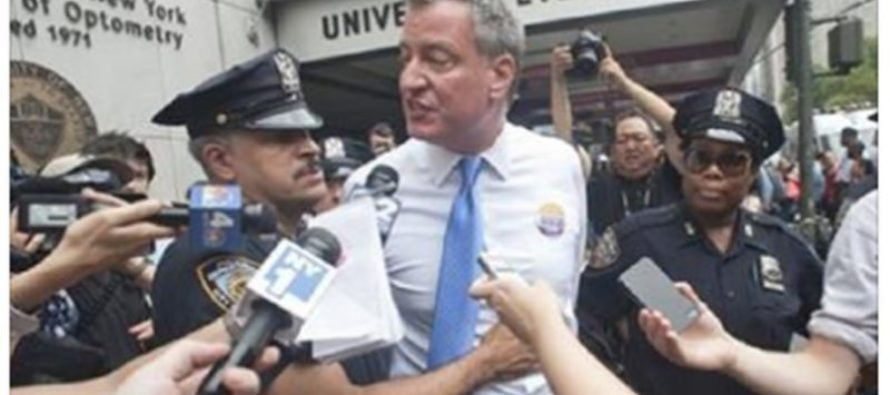 New York Times Report: NYC Mayor Bill de Blasio is Facing CRIMINAL CHARGES